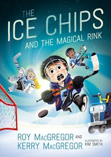Books and Quilts: The Ice Chips and the Magical Rink by Roy MacGrego...