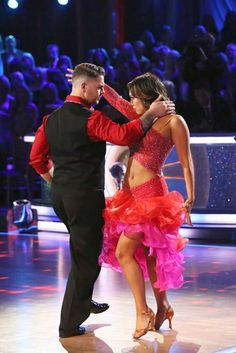 Finale - Jack & Cheryl danced a Paso Doble & Salsa fusion dance scoring 27pts