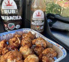 """Kukkakaali """"wingsit"""" grillistä #poppamies #sriracharub #maustaminen #lisuke #kukkakaali #kukkakaalisiivet #kukkakaaliwings #smokyhickorybbqsauce #grillilisuke Bbq, Chicken, Meat, Food, Barbecue, Barbecue Pit, Eten, Meals, Cubs"""