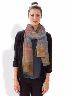 Cashmere Silk Scarf - Dancing in the Wind by VIDA VIDA Cheap Best Sale ORcvYM