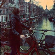 Amsterdam by bicycle