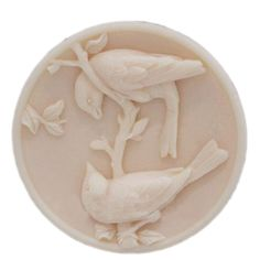 Silicone Soap Molds Craft mold DIY handmade Soap making mold Bird Lover Round