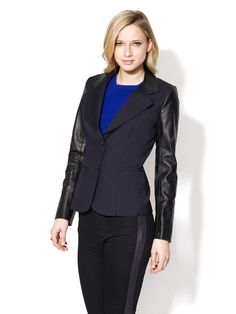 Dicky Newport Combo Collar Jacket by Pink Tartan on Gilt.com