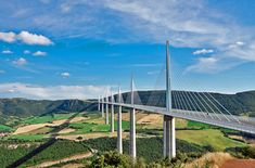 Millau+Viaduct,+France