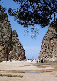 Canyon near Sa Calobra, Mallorca, Spain,Torrent de Pareis by langkawi, via Flickr
