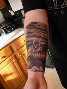 Viking Ship Tattoo First tattoo - viking ship