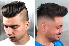 An undercut fade is a surefire way to bring both short and long mens hair styles to the whole new level of boldness. Check out these trendy ideas, which include a disconnected pompadour, a curly undercut and many other cool male hairstyles. #menshaircuts #menshairstyles #undercut #fade #undercutfade #undercutvsfade Tapered Undercut, Curly Undercut, Undercut Men, Male Hairstyles, Undercut Hairstyles, Haircuts For Men, Undercut Designs, Disconnected Undercut, Mens Hair