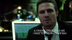 This is my favorite fanmade Arrow video ever. I watched it twice, and cried the entire way through. I voluntarily cried for 20 minutes to watch this video because it was THAT good. Watch it. Believe me, it's beautiful.