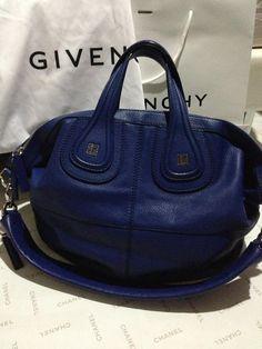 efa847ae5c92 New Givenchy Nightingale.. Yay nay  - PurseForum Moroccan Blue