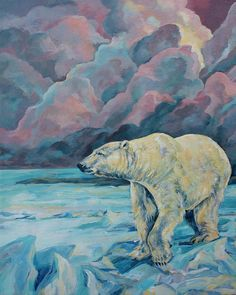 Artic Wanderer Painting by Derrick Higgins - Artic Wanderer Fine Art Prints and Posters for Sale