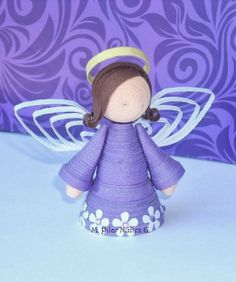 3d Quilled Angel (tutorial)