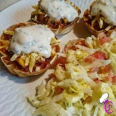 Taco Muffins mit Käse