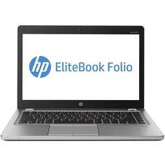 "HP - EliteBook Folio 14"" Refurbished Laptop - Intel Core i5 - 8GB Memory - 128GB Solid State Drive - Silver"