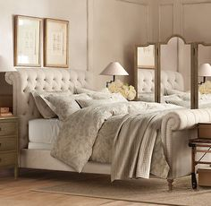 Belgian Linen Paisley Printed Bedding Collection