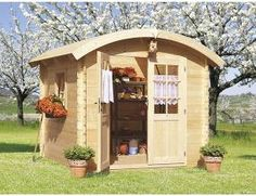 Zahradní domek dřevěný Zara 250x250 cm