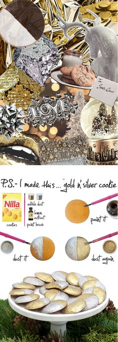 """Take the term """"fashion plate"""" to the next level with this deliciously edible DIY. #PSIMADETHIS"""