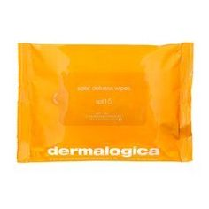 Dermalogica Solar Defense Wipes SPF15, 15 Wipes by Dermalogica. $20.00. Full spectrum, SPF 15 wipes protect against UVA, UVB and infrared rays.