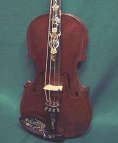 Restored Antique 1720 Stradivarius Violin w/Case and Bow