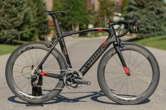 2014 Specialized S-Works Venge HRR aero road bike with hydraulic rim brakes