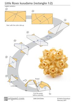origami...wow. there are instructions...but still, wow!
