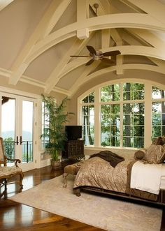 great ceiling; love the view    quarto37