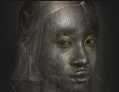 In her on-going series 'L'Afrique!' Dutch artist Ingrid Baars creates portraits of enchanting Godesses inspired by traditional African art and culture. Manipulation Photography, Photo Manipulation, Black Future, African Sculptures, Dreams And Nightmares, Dutch Artists, Real Women, African Art, Les Oeuvres