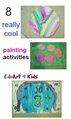 #Painting for kids: 8 really great activities