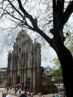 Ruins of St Paul's Cathedral, Macau, China