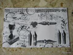 heike`s blog: Mail Art Envelope