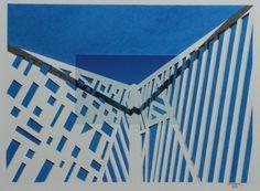 Massimo Premoli, Architettura ir-reale, 2015, foto-disegno