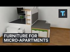 Tech Insider: Furniture for micro-apartments