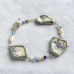 A personal favorite from my Etsy shop https://www.etsy.com/listing/385320520/broken-china-bracelet-sterling-bracelet
