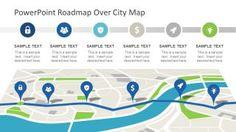 Roadmap City Map PowerPoint Theme