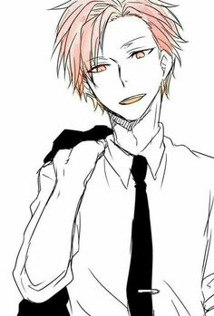 Akabane Karma, cool, suit, outfit; Assassination Classroom