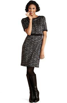Donna Morgan Knit Sheath Dress (Regular & Petite) available at #Nordstrom