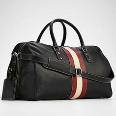 leather weekender bag from RedEnvelope.com. Perfect for short trips out of the city