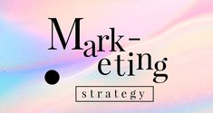 Marketing strategy on a pastel on a pastel business template vector | premium image by rawpixel.com / Mind Vector Can, Vector Free, Advertisement Template, Pastel Background, Advertising, Ads, Direct Marketing, Social Media Template, Sale Promotion