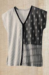 Nisha Top - White/Black