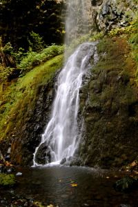 Cabin Creek Falls #Oregon #HikeOregon #ColumbiaRiverGorge #StarvationCreek