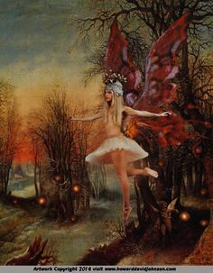 Howard-David-Johnson's-art.The-moth-fairy!