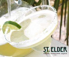 ST-RITA! 2 oz Tequila, 1 oz St. Elder #Elderflower Liqueur, 1/2 oz fresh Lime juice