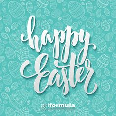 Happy Easter Egg Lettering On Seamless Stock Vector (Royalty Free) 377795665 Easter Wallpaper, Holiday Wallpaper, Easter Peeps, Happy Easter, Seamless Background, Textured Background, Photo Illustration, Digital Illustration, Illustrations