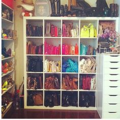 Wow! My problem would be: returning items to the correct shelf after changing clothes 4 times!!
