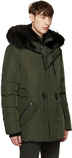 Mackage - Green Down Brodny Coat