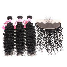Ombre Human Hair Weave Brazilian Body Wave Bundles With Frontal Closure Lanqi 613 Blonde Bundles With Frontal Closure 13*4 Lace Exquisite Traditional Embroidery Art Hair Extensions & Wigs