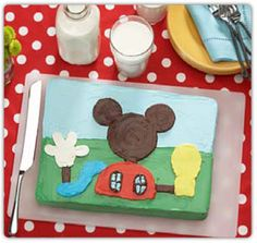 mickey mouse clubhouse birthday recipies