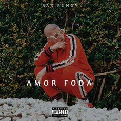 Caratula Frontal de Bad Bunny - Amorfoda (Cd Single)