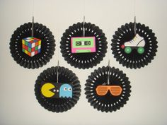 80s party decorations