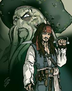 "Disney fan art ""Pirates of the Caribbean"" by grantgoboom.deviantart.com [For more Disney pics, fan art, news, trivia, facts and more, please visit my blog: http://grown-up-disney-kid.tumblr.com/ ]"