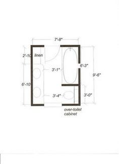 layout for 7x10' master bath, small, freestanding soaking